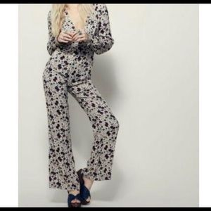 "Free People ""Some like it floral"" jumpsuit"